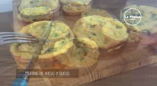 Cocinando con Mayte: Muffins de huevo y queso