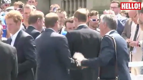 Prince William, Kate and Harry launch the Tour de France