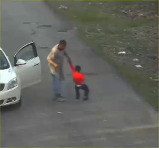 Video Captures Man Beating Boy With Belt