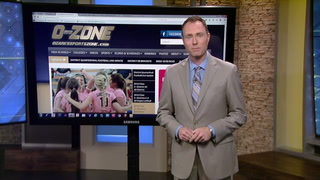 Central cheerleaders visit O-Zone Show