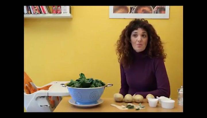 Gnocchi con gli spinaci