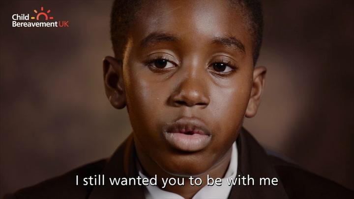 Rio Ferdinand and Mary Berry star in Child Bereavement UK advert