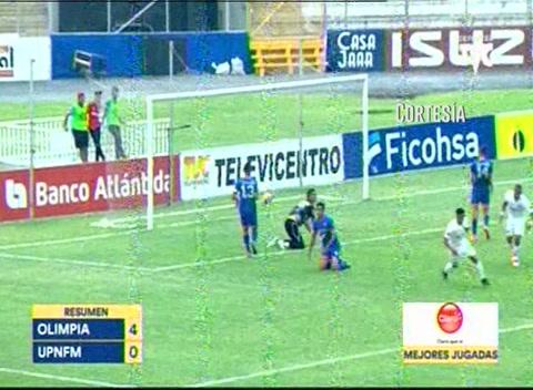 Olimpia 4 - 0 UPN (Liga Nacional)
