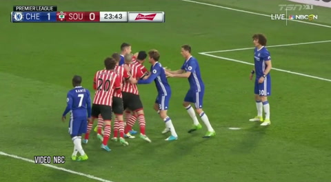 Chelsea 4 - 2 Southampton (Premier League)