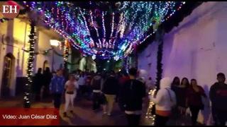 Fiesta: Color y alegría en paseo navideño en Comayagua