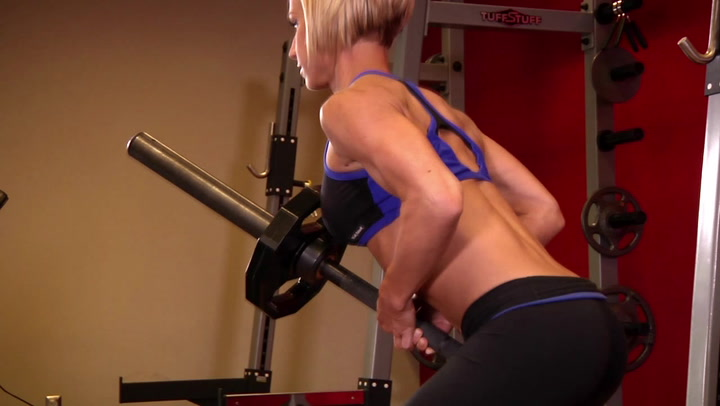 Bent Over Two Arm Long Bar Row - Back Exercise - Bodybuilding.com