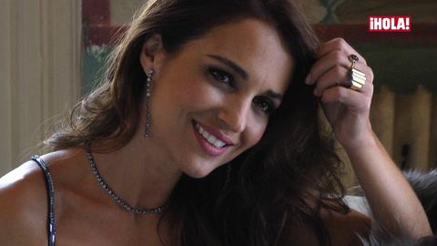 \'Making of\': Paula Echevarría posa para ¡HOLA! en el mejor momento \'personal y profesional\' de su vida