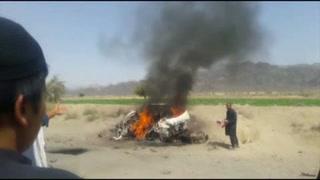 Muere líder de los talibanes en bombardeo de EU