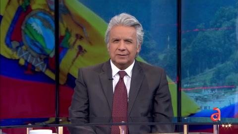 Entrevista exclusiva con el ex presidente de Ecuador Lenin Moreno