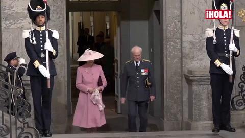Del \'Te Deum\' a la cena de gala: así fue la gran fiesta de cumpleaños de Carlos Gustavo de Suecia junto a la familia de la realeza