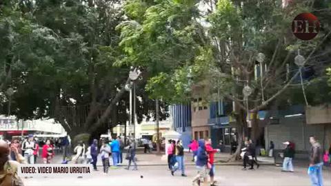 Condiciones meteorológicas en Tegucigalpa