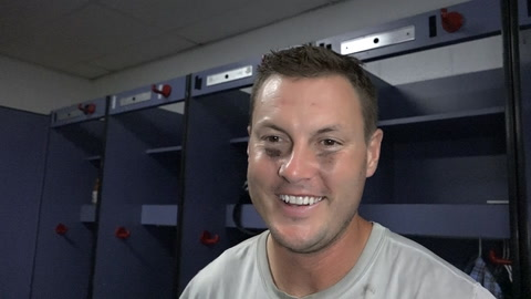 Chargers locker room on OT win over the Atlanta Falcons