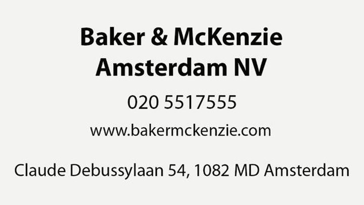Baker & McKenzie Amsterdam NV - Bedrijfsvideo