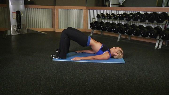 Butt Lift Bridge - Legs / Glutes Exercise - Bodybuilding.com