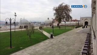 Süleymaniye Camii'ndeki 'kafe-kondu' kaldırıldı