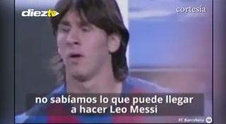 El homenaje del Barcelona a Leo Messi por sus 500 Goles