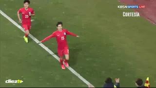 Selección Sub-20 cae ante Corea en su primer amistoso previo al Mundial