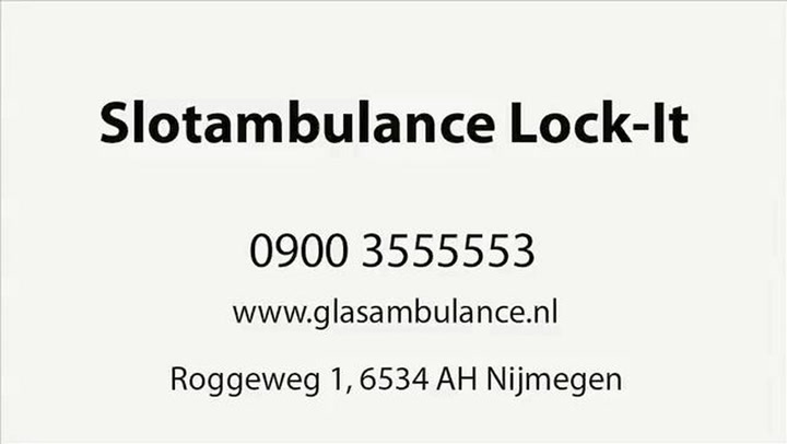 Slotambulance Lock-It - Video tour