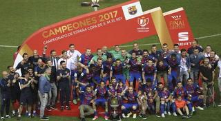Barcelona derrota al Alavés y conquista su vigésima novena Copa del Rey