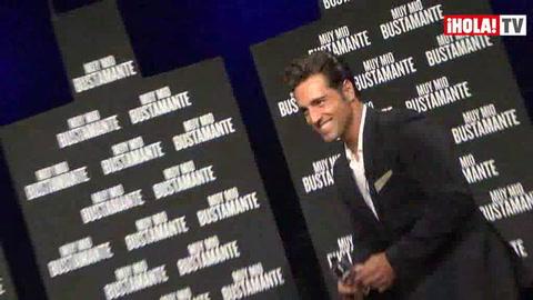 David Bustamante presenta su perfume: \'Mi hija ha dicho: Papá, huele muy bien, ¡échate más!\'