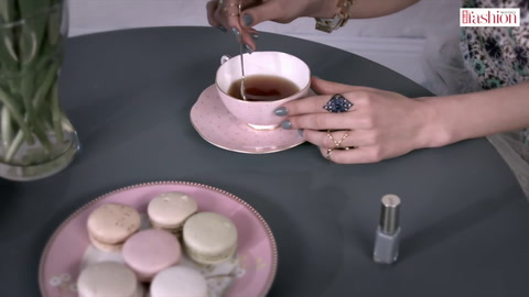 Time for tea with these perfect spring nails