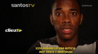 El día que Robinho se grabó un video declarándose inocente