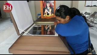 Velorio de Alison Cruz tras tiroteo entre pandilleros en en El Pedregal
