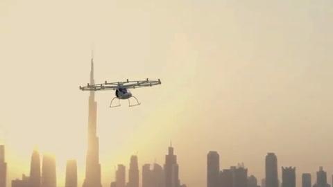 Dubái prueba taxi volador sin piloto