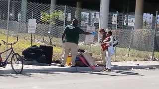 City of Miami Employees Caught on Camera Harrassing Homeless Community