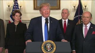 Presidente de EEUU impone pesados aranceles a productos chinos