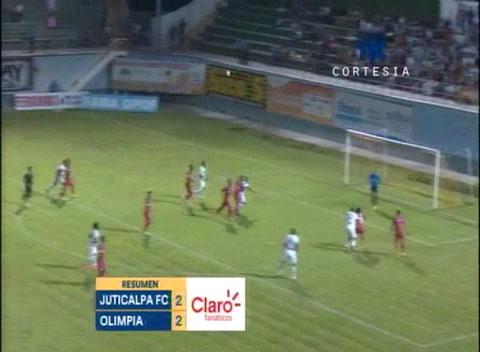 Juticalpa FC y Olimpia empatan en el Juan Ramón Brevé