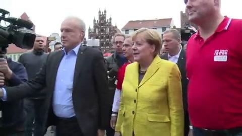 Cierre de campaña de cara a legislativas en Alemania