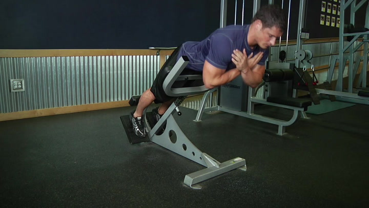 Hyperextensions (Back Extensions) - Core / Back Exercise