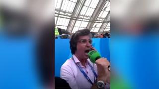Imperdible narración de relatores de España en el gol de México