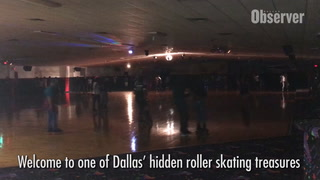 Adult Skate Night at South Dallas' Best-Kept Secret