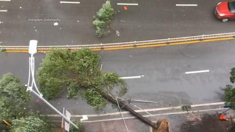 Al menos cuatro muertos por tifón en Macao y Hong Kong