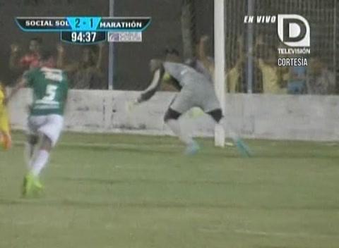 El dramático final del Social Sol vs Marathón (Liga Nacional)