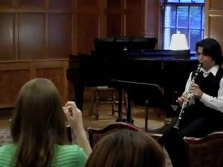 Richard Stoltzman clarinet master class