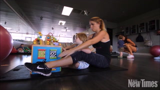 At Mommycise Fitness, Moms Workout With Their Babies