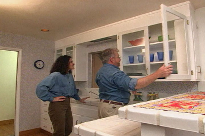 How To Replace Wood Cabinet Doors With Glass Diy Projects Videos