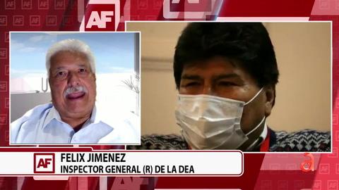 Evo Morales acusa a EEUU de fracaso en su lucha contra el Narcotráfico