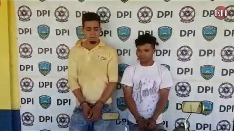 Integrantes de banda de roba motocociletas son detenidos por la Policía Nacional