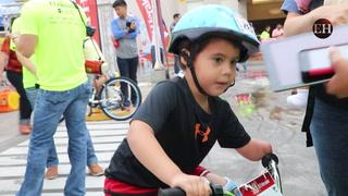 Luca, un guerrero de corazón en la Vuelta Ciclística Infantil de EL HERALDO