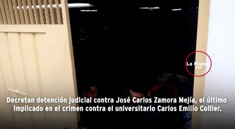 Detención judicial contra José Zamora, último implicado en el caso de Carlos Collier