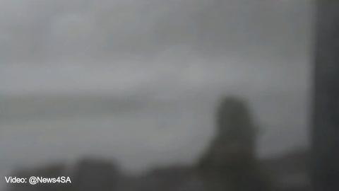 Así fue el tornado que destruyó parte de Russellville, Alabama
