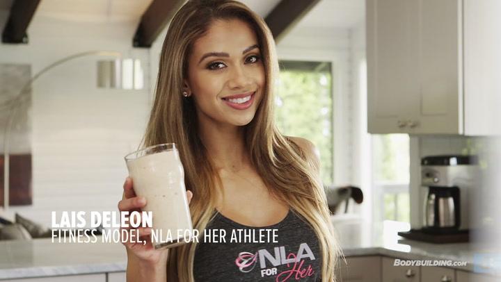 Lais DeLeon Recipes: Almond Banana Protein Shake