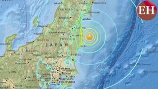 Terremoto de 6,1 en la escala de Richter sacudió litoral de Japón