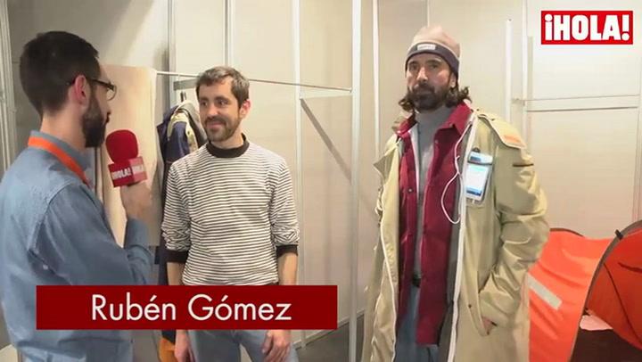 Rubén Gómez: \'La colección parte de una idea que mezcla arquitectura, moda y tecnología\'
