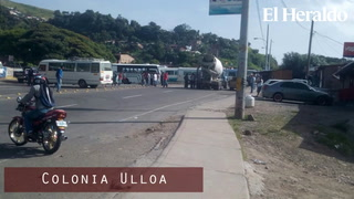 Sectores tomados y bajo resguardo militar en Tegucigalpa