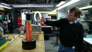 Mag Lab open house preview: Tesla Coil